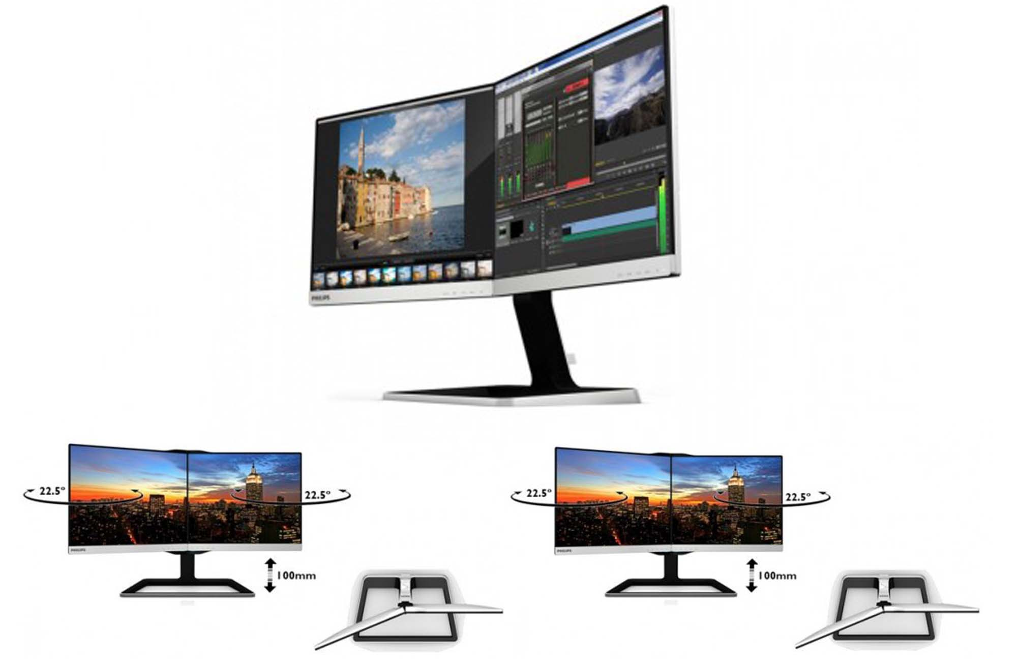 A Philips lança seuTwo-in-One monitor !