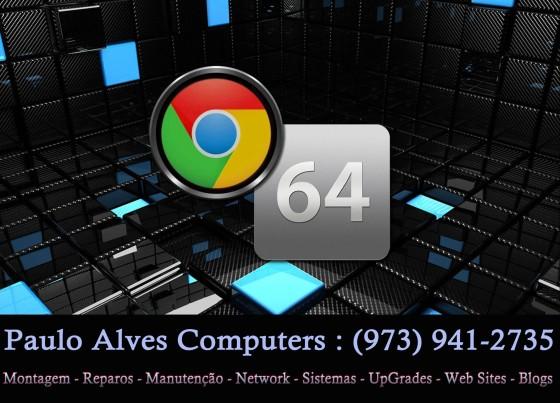 Já chegou o Google Chrome em 64 Bits (x64)