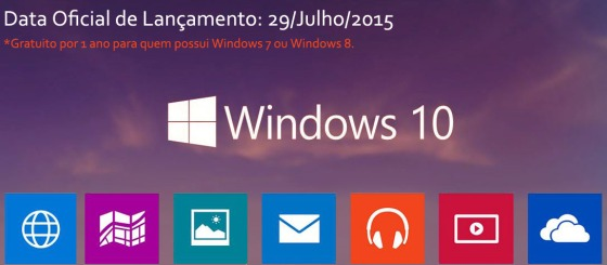Novo Windows 10